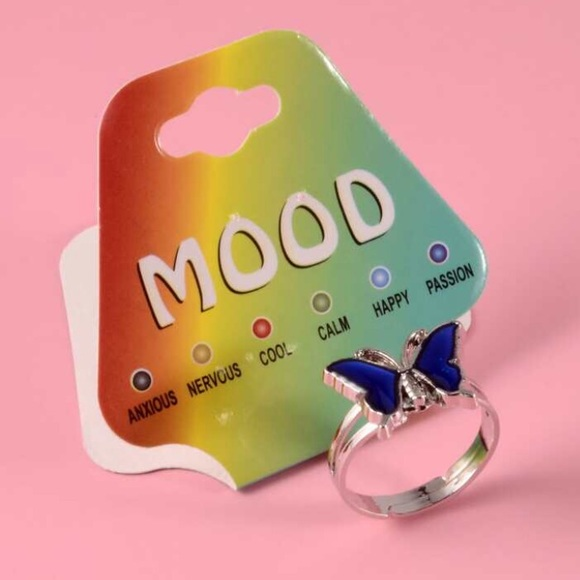 MOOD RING! BUTTERFLY MOOD RING